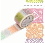 MT PRÉDÉCOUPÉ Motif crochet - 2cm x 3m