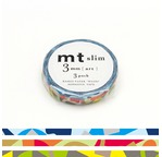 MT SLIM Set de 3 mt slim 3mm motifs mosaïque / art