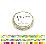 MT SLIM Set de 3 mt slim 3mm motifs pop