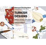 PEPIN Bloc de 20 cartes postales à colorier 10,5x15cm Designs Turcs