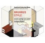 PEPIN Bloc de 20 cartes postales à colorier 10,5x15cm Style Bauhaus