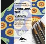 PEPIN Bloc 20 cartes à colorier 15x15cm Faïence de Barcelone pp11,95€