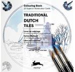 PEPIN Bloc de 20 cartes à colorier 15x15cm Bleu de Delft pp 11,95€