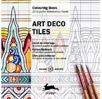 PEPIN Bloc de 20 cartes à colorier 15x15cm Art Deco pp 11,95€