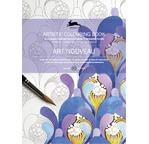 PEPIN Livre à colorier pour artiste 25x34,5cm Art Nouveau pp 12,95€