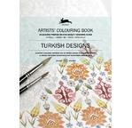 PEPIN Livre à colorier pour artiste 25x34,5cm Designs Turcs pp 12,95€