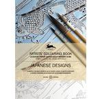 PEPIN Livre à colorier artiste 25x34,5cm Designs Japonais pp 12,95€