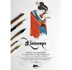 PEPIN Livre à colorier pour artiste 25x34,5cm Kimono pp 12,95€