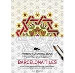 PEPIN Livre à colorier artiste 25x34,5cm Faïence Barcelone pp 12,95€