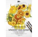 PEPIN Livre à colorier pour artiste 30x42cm Van Gogh pp 19,95€