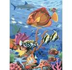 Peinture par N° débutant - Sous les mers du sud