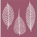 Set de 3 feuilles en papier washi - 16/18cm