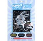 Kawaii silver artfoil rabbit