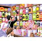 Peinture par N° - Le Paradis des bonbons