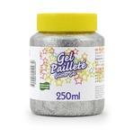 250gr Glitter gel: SILVER