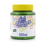 250gr Glitter gel: GREEN