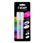 FILL'IT Blister 2 Marqueurs vides 4,5mm + 1 pointe gratuite