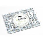 PEPIN Bloc de 48 sets de table décoratifs en papier 30x42cm Maroc