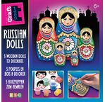 BABOUSHKA Russian glitter dolls