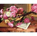Peinture par N° - Bouquet musical