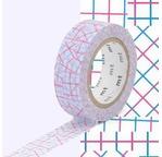 MT 1P Motif collage rose / pink