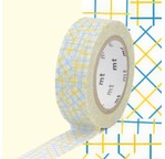 MT 1P Motif collage jaune / yellow