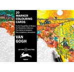 Marker Colouring Card Books Van Gogh