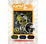 Kawaii gold artfoil monkey