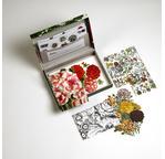 PEPIN Set de Correspondance 40 feuilles Imprimé Floral