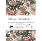 PEPIN Livre de Papiers Cadeaux  Gravure Florale pp12,95€