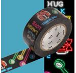 MT EX Motif messages neon - 2cm x 10m