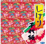 CHIYOGAMI Simple face - 15 x15cm, 36 feuilles, 4 motifs tradi