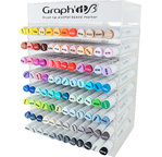 GRAPH'IT BRUSH & EXTRA FINE Set 96 markers + display