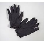 Gants de protection vinyl noirs