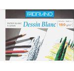 FABRIANO PAPIER BLANC -Pochette 24x32 cm -180 gsm -12 feuilles