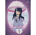 ART SEQUIN - Gorjuss fillette au parapluie
