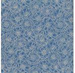 PAPERTREE 50*70 100g ANEMONES Bleuet/Crème