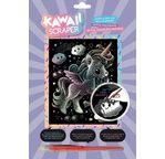 Kawaii holographic artfoil unicorn