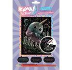 SCRAPER Holographique Kawaii - NARVAL RIEUR