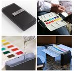 Portable Painter  set up - 10 palettes