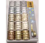 MT display full 15 x 4pcs - GOLD & SILVER