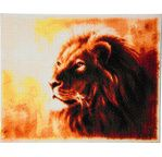 CRYSTAL ART Kit tableau broderie diamant 40x50cm Lion