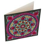 Crystal Art Card Kit 18x18cm Mandala