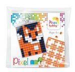 PIXEL Kit créatif porte-clé 4x3cm - Renard