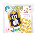 PIXEL Kit créatif porte-clé 4x3cm - Hibou