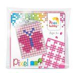 PIXEL Kit créatif porte-clé 4x3cm - Papillon