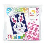 PIXEL Kit créatif porte-clé 4x3cm - Lapin