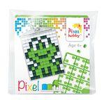 PIXEL Kit créatif porte-clé 4x3cm - Grenouille