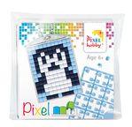 PIXEL Kit créatif porte-clé 4x3cm - Pingouin