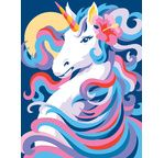 Painting by numbers - Unicorn